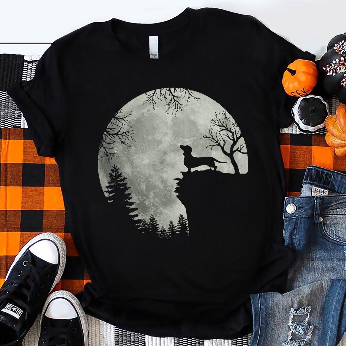 Funny Halloween Shirt, Dachshund Lover T-Shirt KM3008