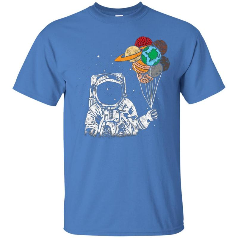 ?astronaut With Planets In Hand? Awesome Shirt 1