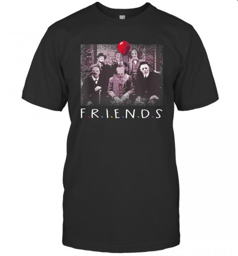 Friends Halloween Horror Team Scary Movies Costume 1